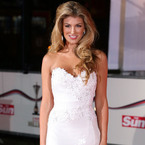 Amy Willerton nails the white dress trend