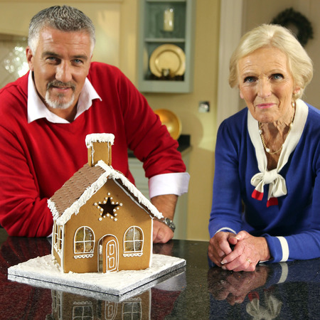paul hollywood and Mary Berry - the great british bake off christmas special - gbbo - boring or classic recipes - handbag.com