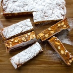 Bake now, scoff later ginger & apricot panforte recipe
