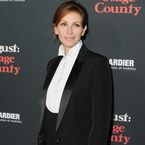 Julia Roberts tries the masculine tux trend