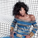 Back to the 90s with Rihanna and Balmain?