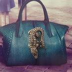 Cavalli's most statement handbag yet?