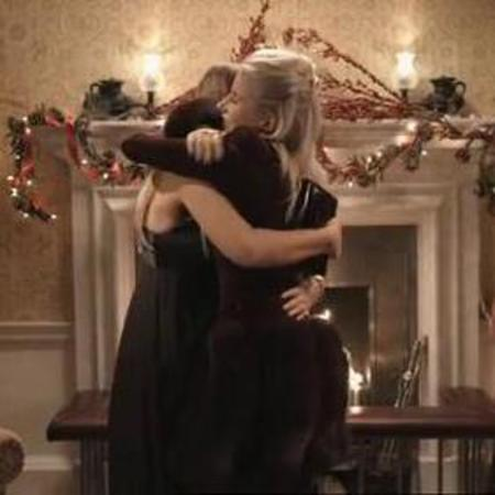 Phoebe lettice and fran newman young make up - lucy watson and jamie laing finally get together - a couple - christmas - made in chelsea - handbag.com