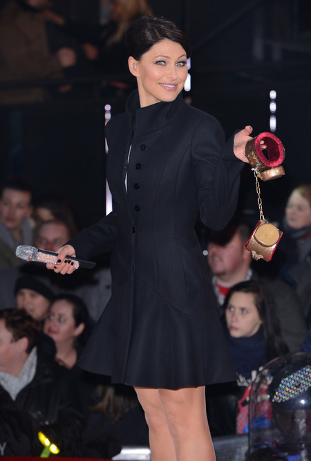 Emma Willis - CBB launch - new contestants - wearing alexander mcqueen - handbag.com