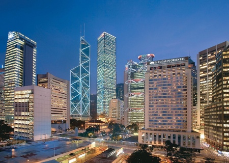 Hong Kong Travel review - City guide - Mandarin Oriental hotel review - Hotel exterior - Asia travel - holiday ideas - travel - handbag.com