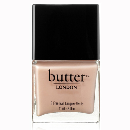 butter london pink ribbon nail lacquer - nude flesh colour nail polish - ss14 nail trend - handbag.com