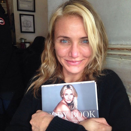 Cameron Diaz The Body Book - Instagram Selfie - diet and fitness news - life - handbag.com