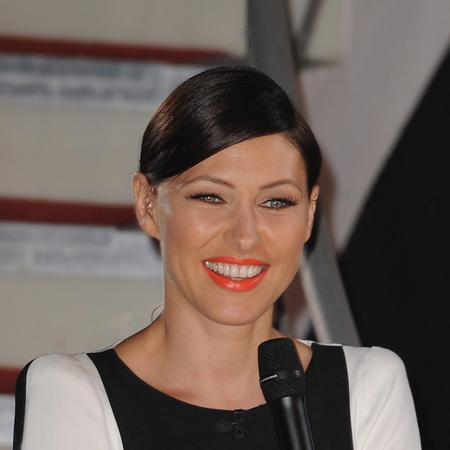 Emma Willis - CBB style - fashion - clothes - eviction - black and white dress - handbag.com