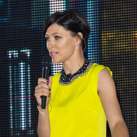Emma Willis - CBB style - fashion - clothes - eviction - yellow top - handbag.com