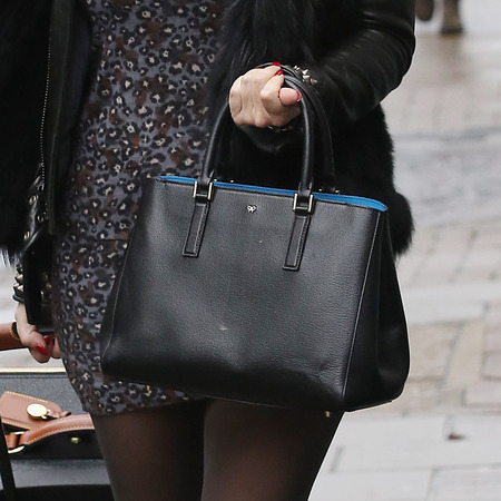 Kelly Brook's Anya Hindmarch tote bag