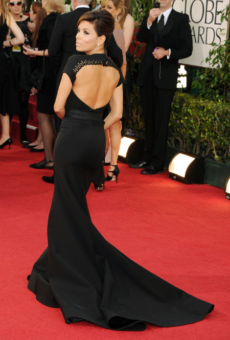 Eva Longoria in Jenny Packham dress at the Oscars 2011
