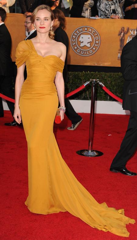 Diane Kruger's red carpet glamour, 2010