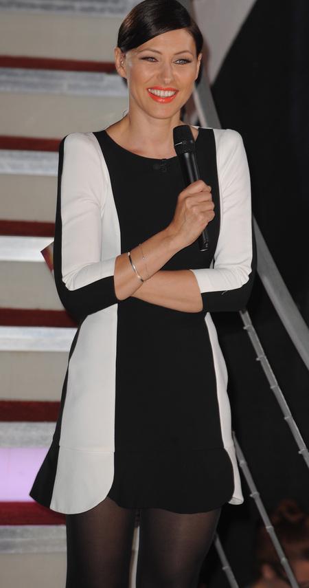 Emma Willis' Celebrity Big Brother dress