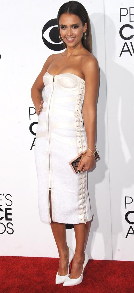 Jessica Alba at People's Choice Awards 2013