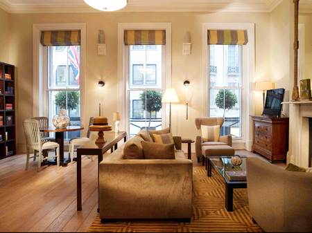Brown's hotel review - London hotel review - suite sitting room - london city guide - travel - handbag.com