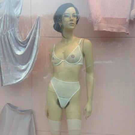 American Apparel pubic hair mannequin pictures - pubic hair - lady garden - women's issues - sexism - fashion - life news - handbag.com
