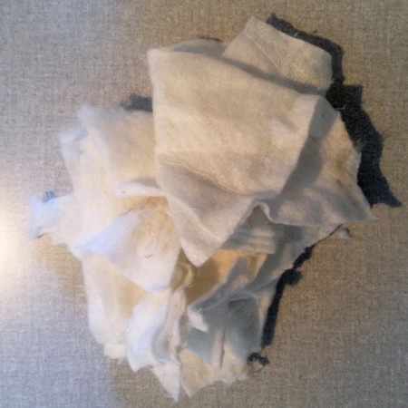 diy fashion fix - how to remove - take out - shoulder pads from a coat - stuffing - handbag.com