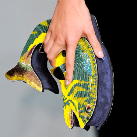 Olympia Le Tan fish clutch bag - quirky designer handbags - handbag.com