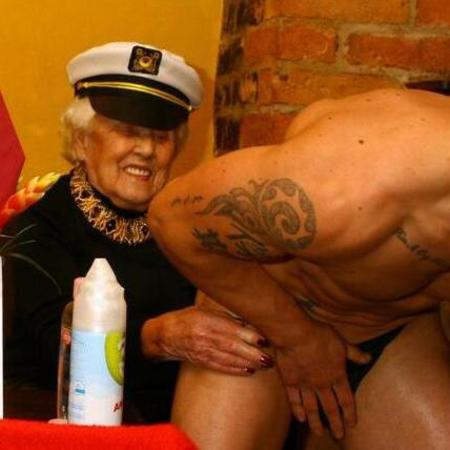 100 year old woman celebrates birthday by hiring a male stripper - lady hero of the week - secret to living longer - viral news - social news - life news - handbag.com