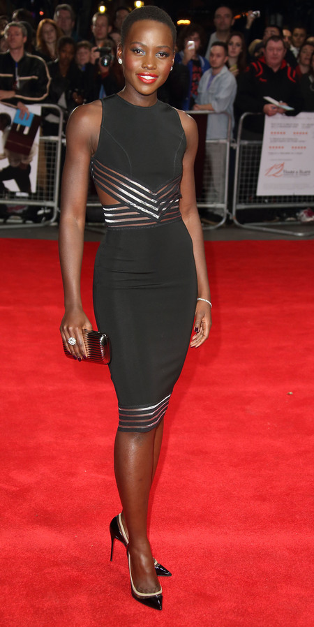 Lupita Nyong'o in Christopher Kane LBD