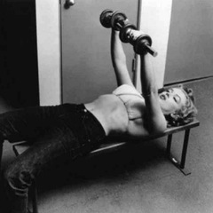 marilyn monroe  - strength training - handbag.com