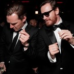 A Cumberbatch and Fassbender dance-off?!