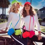 Rosie HW & Juicy Couture are doing the neon trend