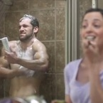 The award for the silliest shower gel advert goes to...