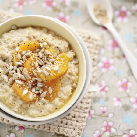 Comforting orange and cinammon porridge - pimp your porridge recipes - food features - handbag.com.
