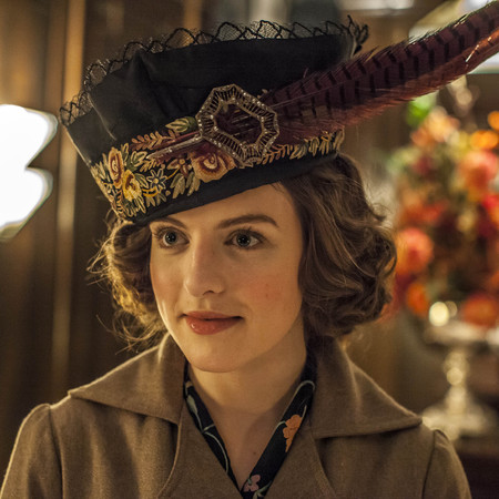 Mr Selfridge group shot - series 2 - episode one - returns - agnes and victor - handbag.com