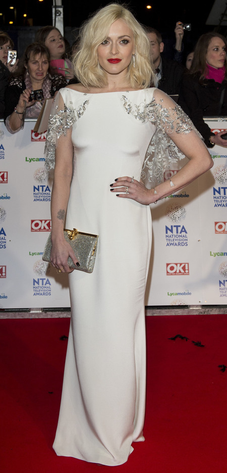 Fearne Cotton at the National Television Awards 2014