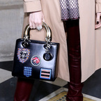 What do you make of Dior's bag badges?