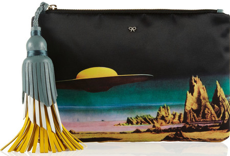 anya hindmarch spaceship clutch bag - designer handbag trends spring summer 2014 - handbag.com