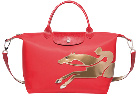chinese new year 2014 - year of the horse - longchamp red handbag copy - handbag.com