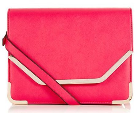 new handbag from high street - new look - hot pink fuchsia crossbody bag - handbag.com