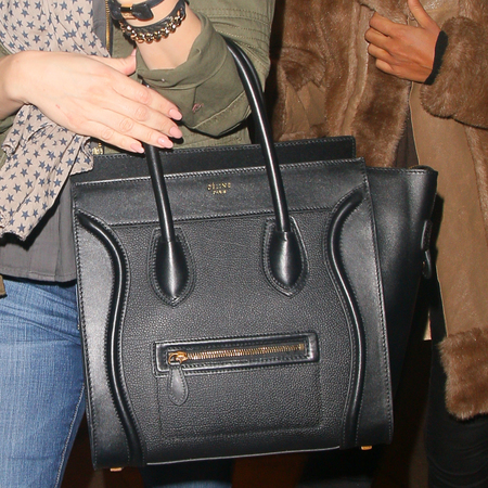 Kelly Brook's Celine Boston bag