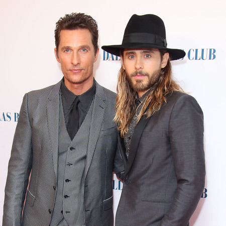 Jared Leto - Matthew McConaughey - dallas buyers club premiere UK - should win for wolf of wall street - handbag.com