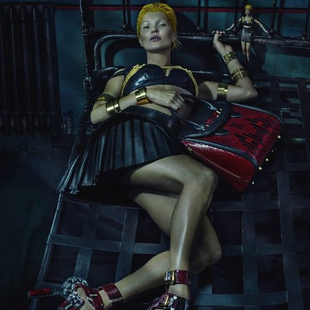 kate moss for alexander mcqueen - spring summer 2014 handbag collection - creepy short film - handbag.com