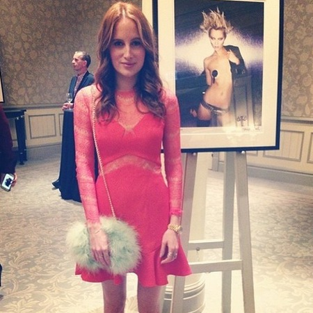 rosie fortescue made in chelsea - river island fluffy handbag - celebrity fashion - handbag.com