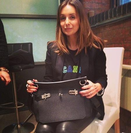 Louise Redknapp's Hermes Jypsiere Bag