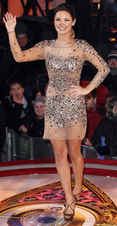 Sam Faiers - Celebrity Big Borther Final - CBB - sparkly dress - date Ollie Locke - handbag.com