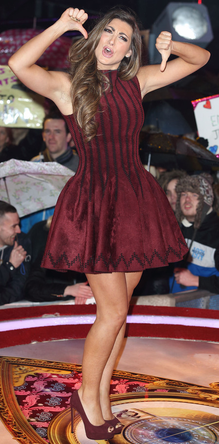 Luisa Zissman's dress at Celebrity Big Brother final