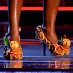 Did you see Milly J's shoes on The Voice?