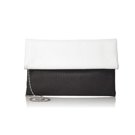 next handbags - black and white clutch bag - spring summer bags - handbag.com