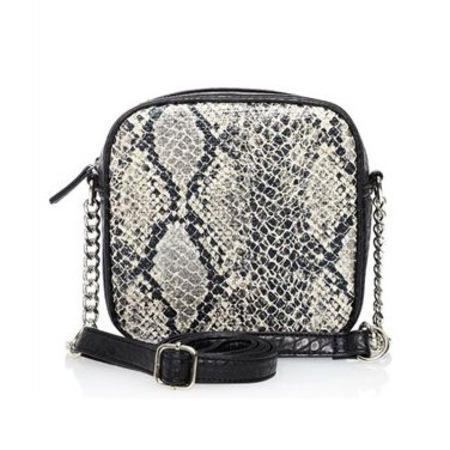 next handbags - snakeskin black white and grey bag - spring summer bags - handbag.com