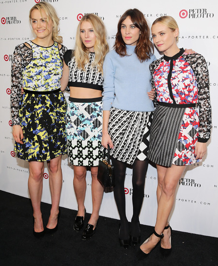 celebrities wearing peter pilotto prints - diane kruger - alexa chung - dree hemingway - british fashion designer - handbag.com