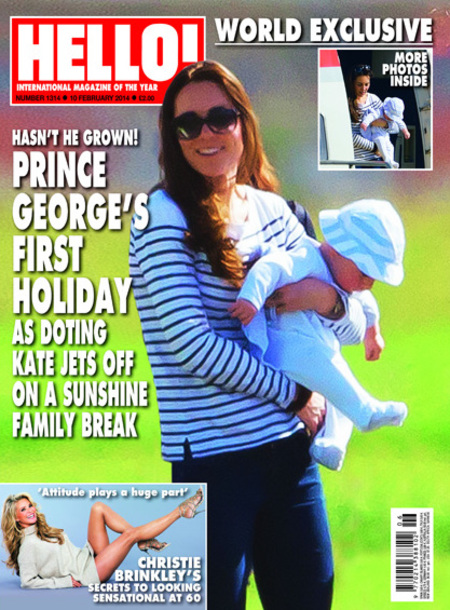 Prince George and Kate Middleton holiday in the Caribbean without Prince William - photographed - Prince George photos - Kate Middleton photos - royal holiday - Caribbean holiday - travel news - handbag.com