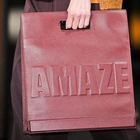 31 phillip lim- amaze slogan handbag - new york fashion week - designer handbag trends autumn winter 2014 - handbag.com