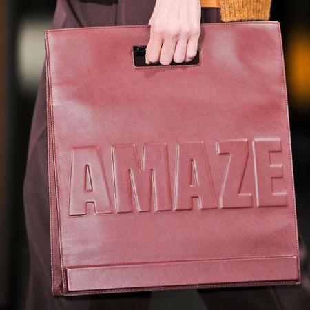 31 phillip lim- amaze slogan handbag - new york fashion week - designer handbag trends autumn winter 2014 - handbag.com