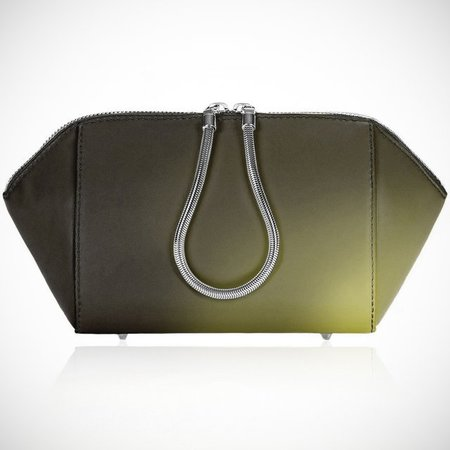 Alexander Wang colour change makeup bag - AW14 collection - futuristic fashion - handbag and beauty news - shopping bag - handbag.com